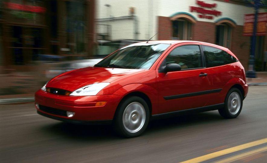2001 Honda Accord sedan, BMW 5-series sedan, Honda S2000, Audi A6, Porsche Boxster S, Audi TT coupe, Ford Focus ZX3, Chrysler PT Cruiser, BMW 3-series convertible - Slide 41