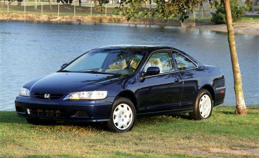 2001 Honda Accord sedan, BMW 5-series sedan, Honda S2000, Audi A6, Porsche Boxster S, Audi TT coupe, Ford Focus ZX3, Chrysler PT Cruiser, BMW 3-series convertible - Slide 44