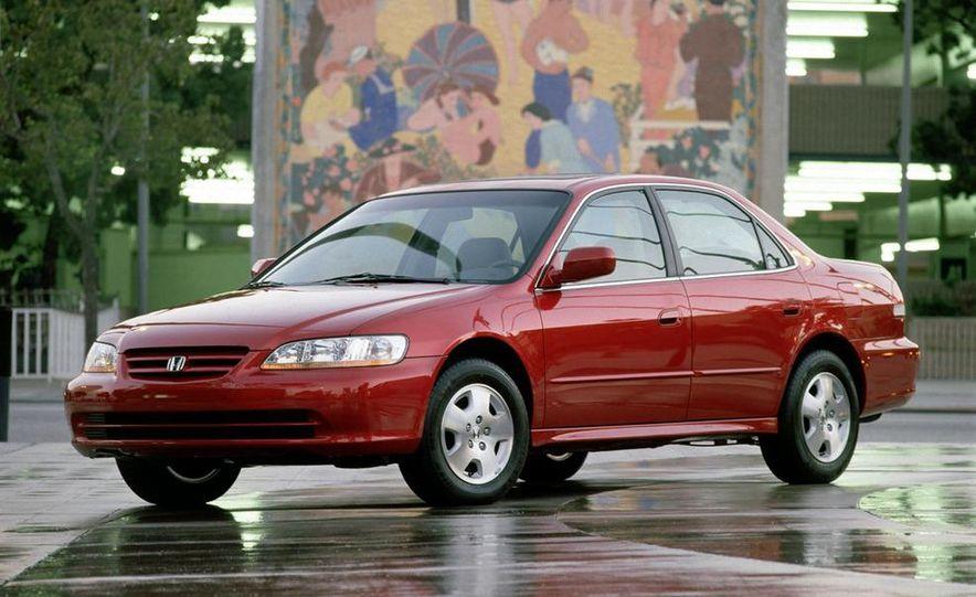 2001 Honda Accord sedan, BMW 5-series sedan, Honda S2000, Audi A6, Porsche Boxster S, Audi TT coupe, Ford Focus ZX3, Chrysler PT Cruiser, BMW 3-series convertible - Slide 46