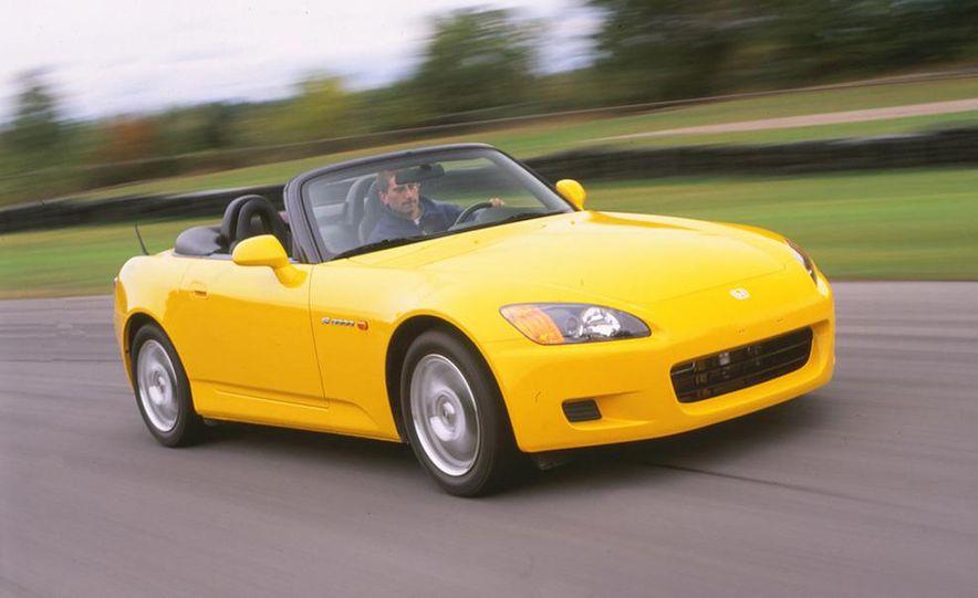 2001 Honda Accord sedan, BMW 5-series sedan, Honda S2000, Audi A6, Porsche Boxster S, Audi TT coupe, Ford Focus ZX3, Chrysler PT Cruiser, BMW 3-series convertible - Slide 9