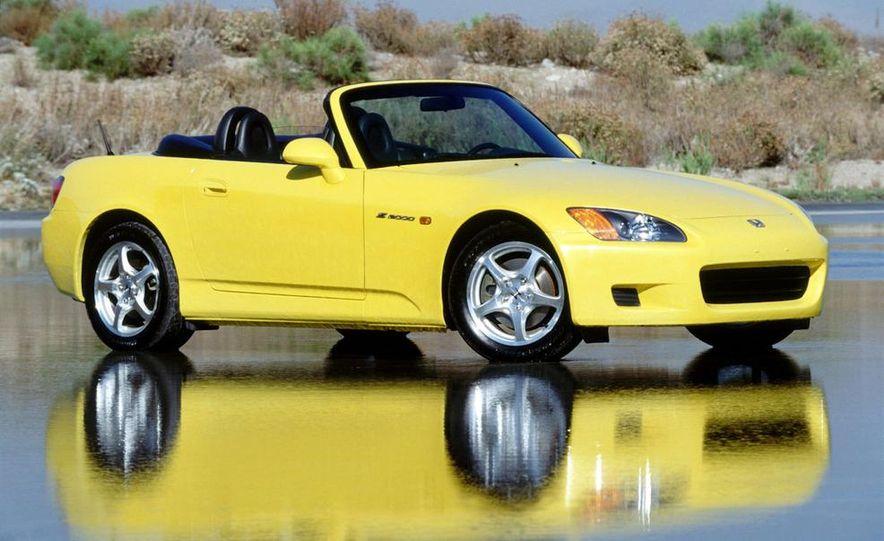 2001 Honda Accord sedan, BMW 5-series sedan, Honda S2000, Audi A6, Porsche Boxster S, Audi TT coupe, Ford Focus ZX3, Chrysler PT Cruiser, BMW 3-series convertible - Slide 49