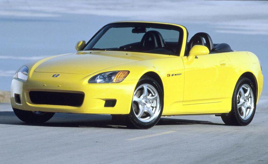 2001 Honda Accord sedan, BMW 5-series sedan, Honda S2000, Audi A6, Porsche Boxster S, Audi TT coupe, Ford Focus ZX3, Chrysler PT Cruiser, BMW 3-series convertible - Slide 50