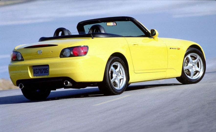 2001 Honda Accord sedan, BMW 5-series sedan, Honda S2000, Audi A6, Porsche Boxster S, Audi TT coupe, Ford Focus ZX3, Chrysler PT Cruiser, BMW 3-series convertible - Slide 51