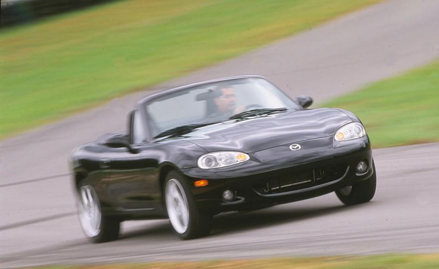 2001 Honda Accord sedan, BMW 5-series sedan, Honda S2000, Audi A6, Porsche Boxster S, Audi TT coupe, Ford Focus ZX3, Chrysler PT Cruiser, BMW 3-series convertible - Slide 10