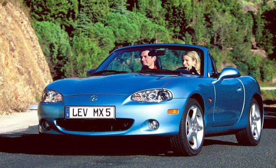 2001 Honda Accord sedan, BMW 5-series sedan, Honda S2000, Audi A6, Porsche Boxster S, Audi TT coupe, Ford Focus ZX3, Chrysler PT Cruiser, BMW 3-series convertible - Slide 53