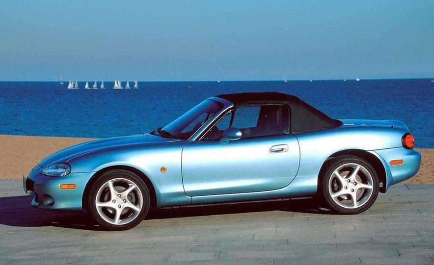 2001 Honda Accord sedan, BMW 5-series sedan, Honda S2000, Audi A6, Porsche Boxster S, Audi TT coupe, Ford Focus ZX3, Chrysler PT Cruiser, BMW 3-series convertible - Slide 55