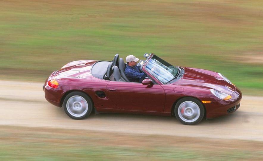 2001 Honda Accord sedan, BMW 5-series sedan, Honda S2000, Audi A6, Porsche Boxster S, Audi TT coupe, Ford Focus ZX3, Chrysler PT Cruiser, BMW 3-series convertible - Slide 11