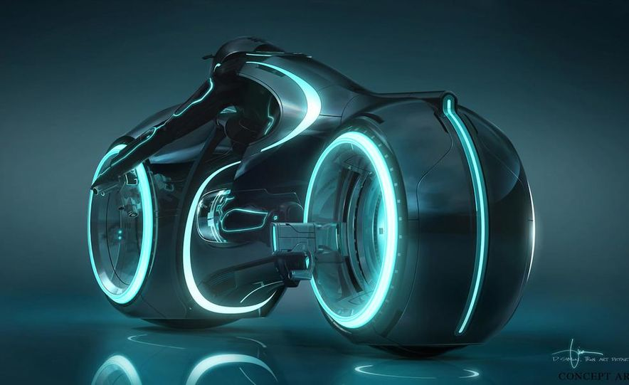 Tron: Legacy Light Runner - Slide 8