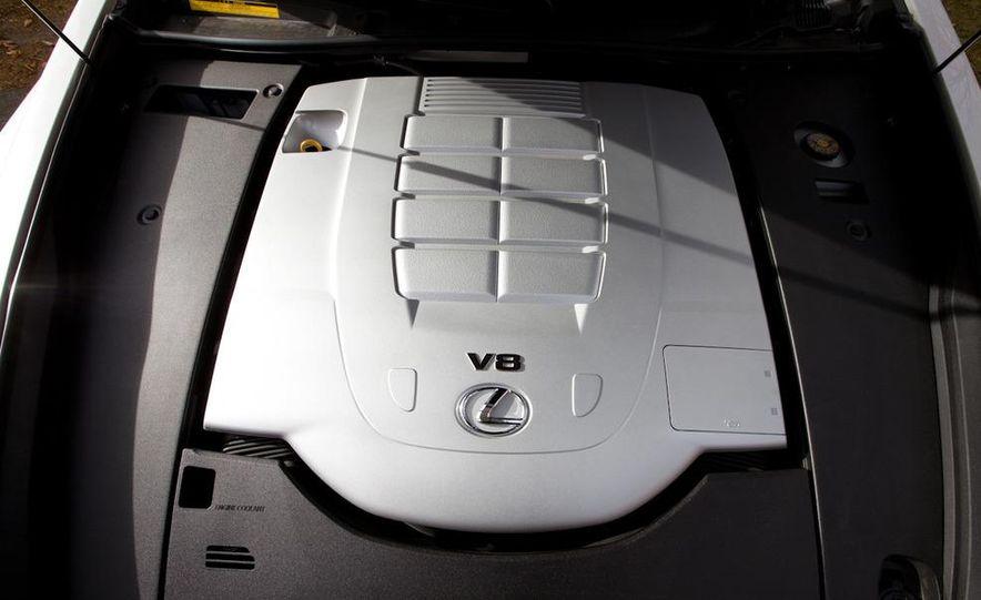 2011 Hyundai Equus and 2010 Lexus LS460L AWD - Slide 25