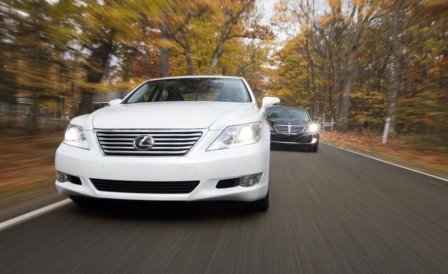 2011 Hyundai Equus and 2010 Lexus LS460L AWD - Slide 4