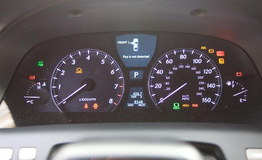 2011 Hyundai Equus and 2010 Lexus LS460L AWD - Slide 18