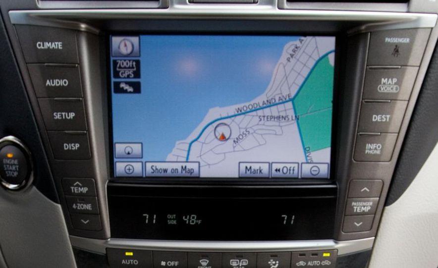 2011 Hyundai Equus and 2010 Lexus LS460L AWD - Slide 19