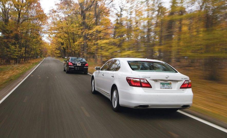 2011 Hyundai Equus and 2010 Lexus LS460L AWD - Slide 2