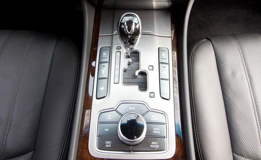 2011 Hyundai Equus and 2010 Lexus LS460L AWD - Slide 44