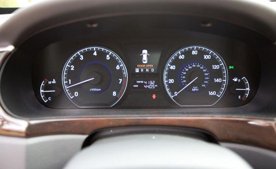 2011 Hyundai Equus and 2010 Lexus LS460L AWD - Slide 43