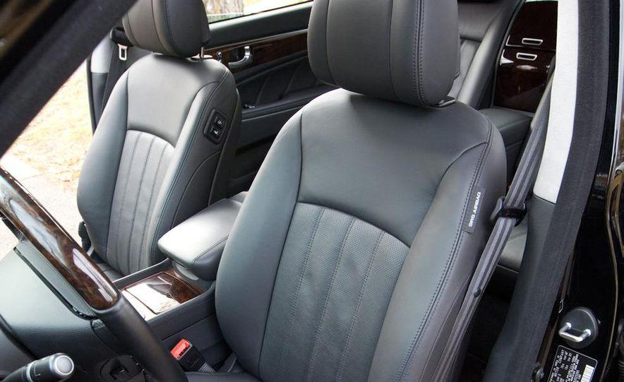 2011 Hyundai Equus and 2010 Lexus LS460L AWD - Slide 40