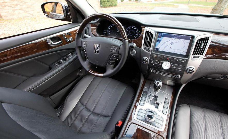 2011 Hyundai Equus and 2010 Lexus LS460L AWD - Slide 37