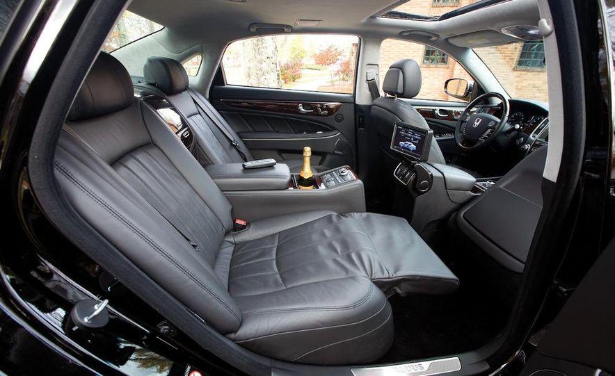 2011 Hyundai Equus and 2010 Lexus LS460L AWD - Slide 38