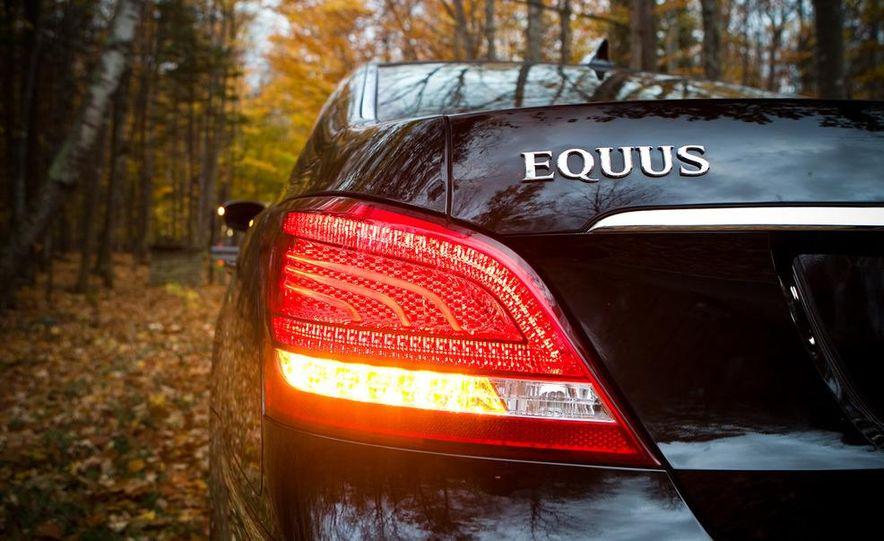 2011 Hyundai Equus and 2010 Lexus LS460L AWD - Slide 33