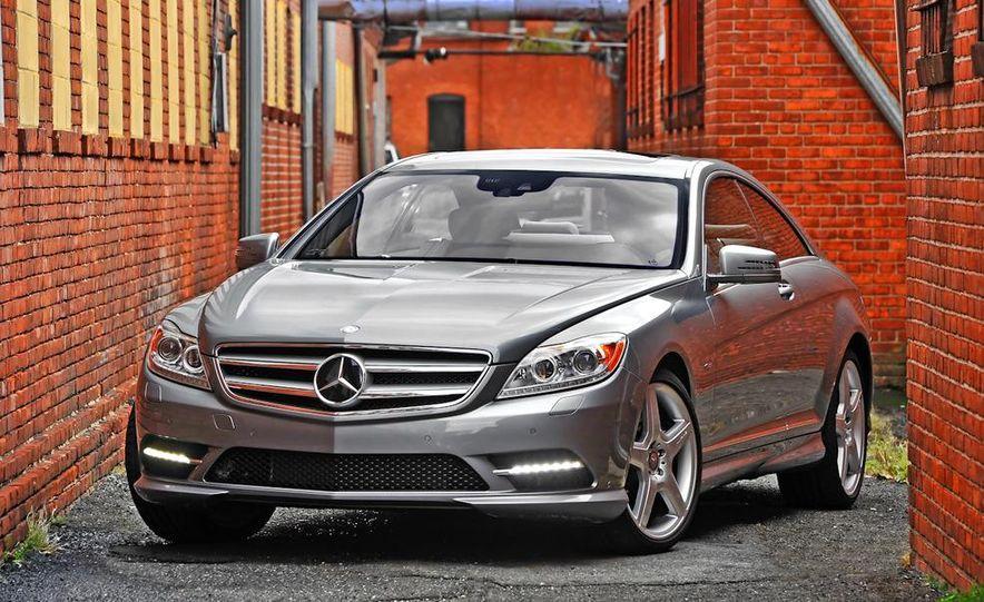 2011 Mercedes-Benz CL550 - Slide 4