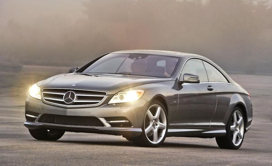 2011 Mercedes-Benz CL550 - Slide 7
