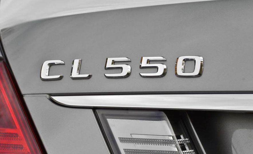 2011 Mercedes-Benz CL550 - Slide 12