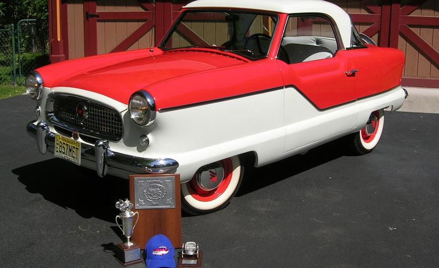 1957 Nash Metropolitan hardtop - Slide 1
