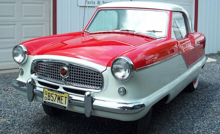 1957 Nash Metropolitan hardtop - Slide 3