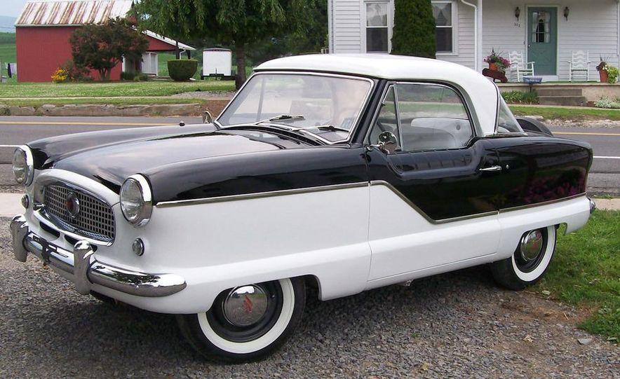 1957 Nash Metropolitan hardtop - Slide 17