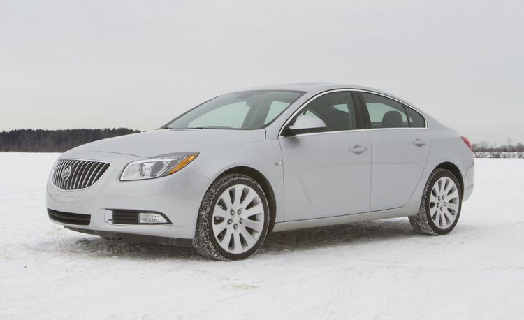 2011 Buick Regal CXL Turbo Manual