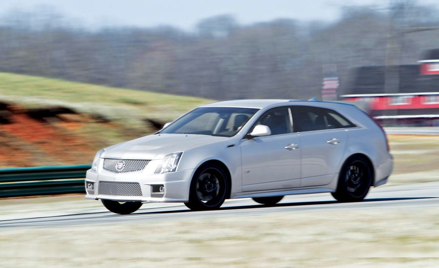 2011 cadillac cts v wagon long term test review car and driver. Black Bedroom Furniture Sets. Home Design Ideas