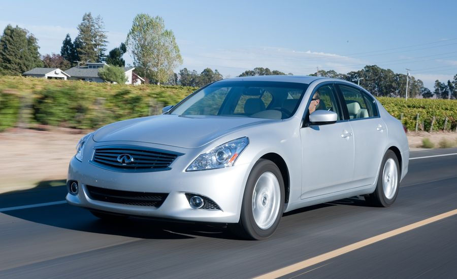 2011 Infiniti G25 G25x Road Test Review Car And Driver