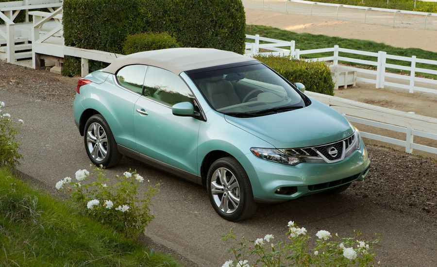 2011 nissan murano crosscabriolet first drive reviews car and driver. Black Bedroom Furniture Sets. Home Design Ideas
