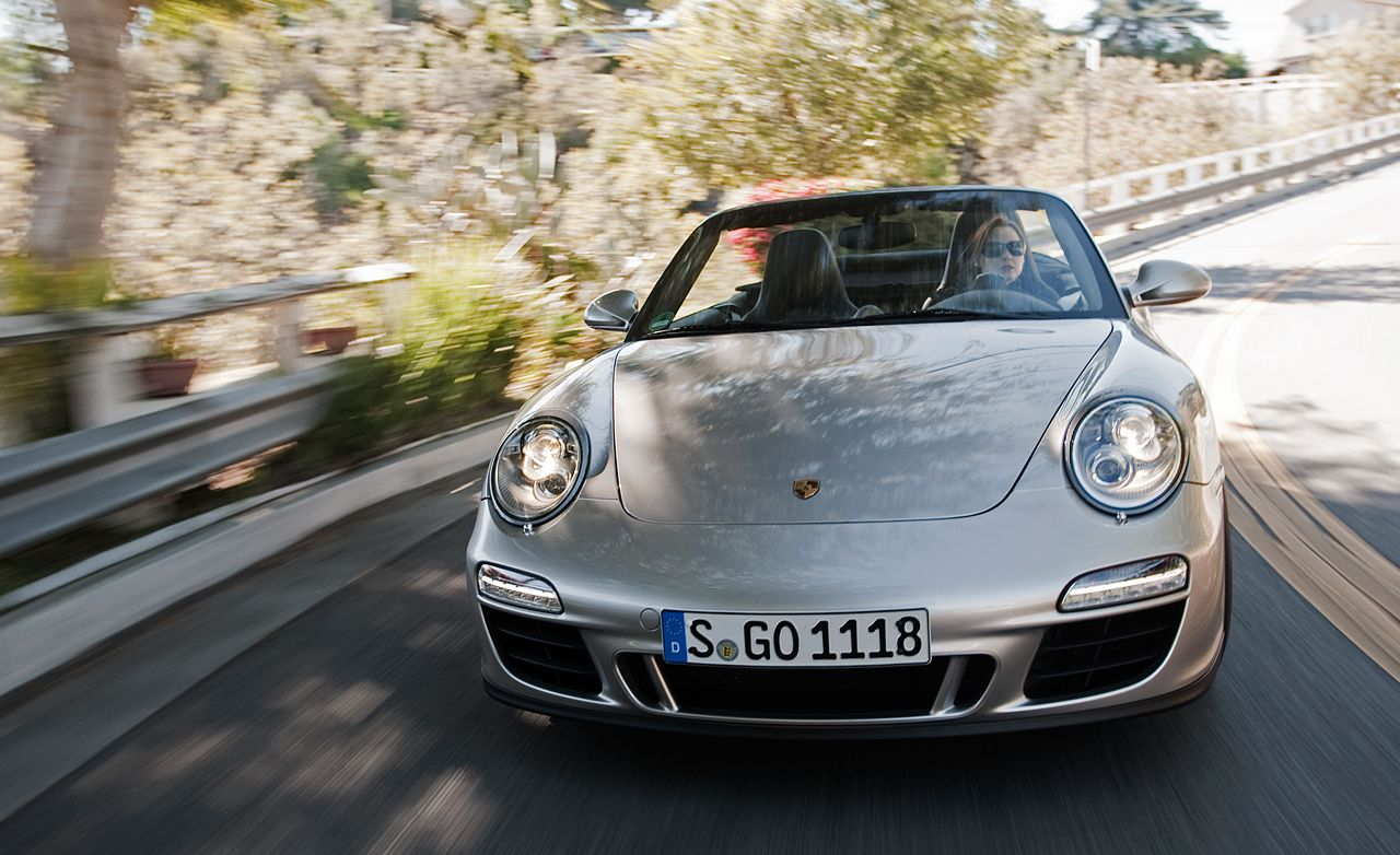 2011 Porsche 911 Carrera Gts Cabriolet Road Test Review Car And