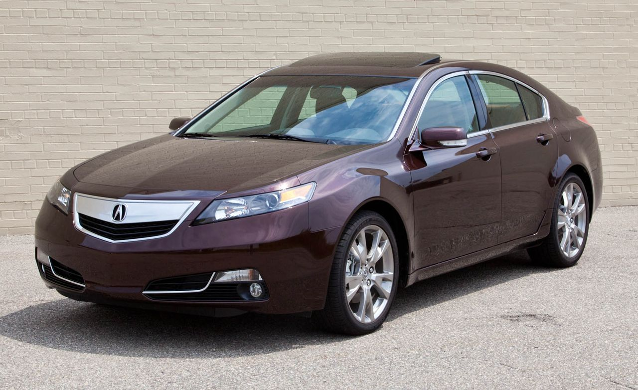 Acura Tl Sh Awd >> 2012 Acura TL SH-AWD Road Test | Review | Car and Driver