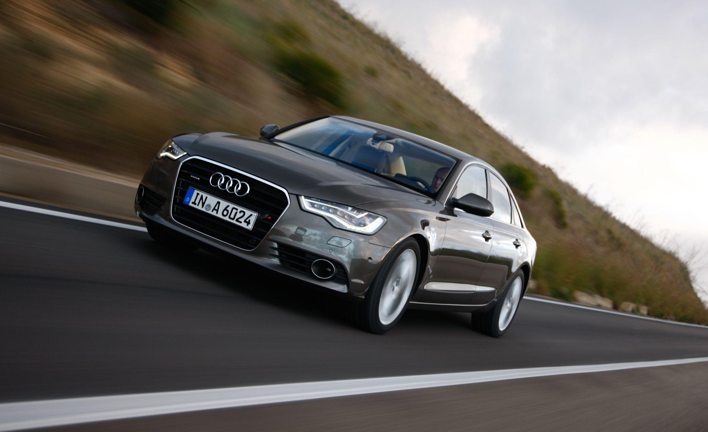 2012 audi a6 supercharged horsepower