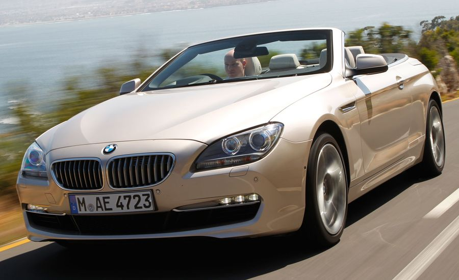 BMW I Convertible Review Car And Driver - Bmw 6501 price