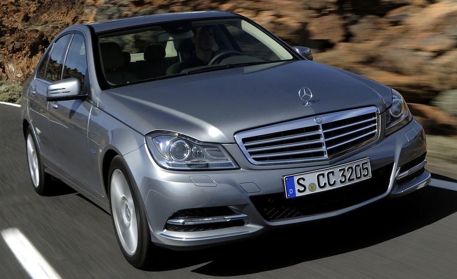 2012 mercedes benz c class drive reviews car and driver for 2012 mercedes benz c350 price