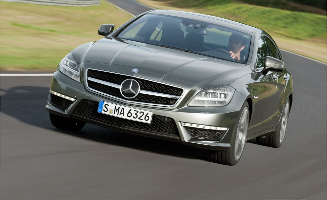 2012 mercedes benz cls63 amg drive mercedes cls review car and driver. Black Bedroom Furniture Sets. Home Design Ideas
