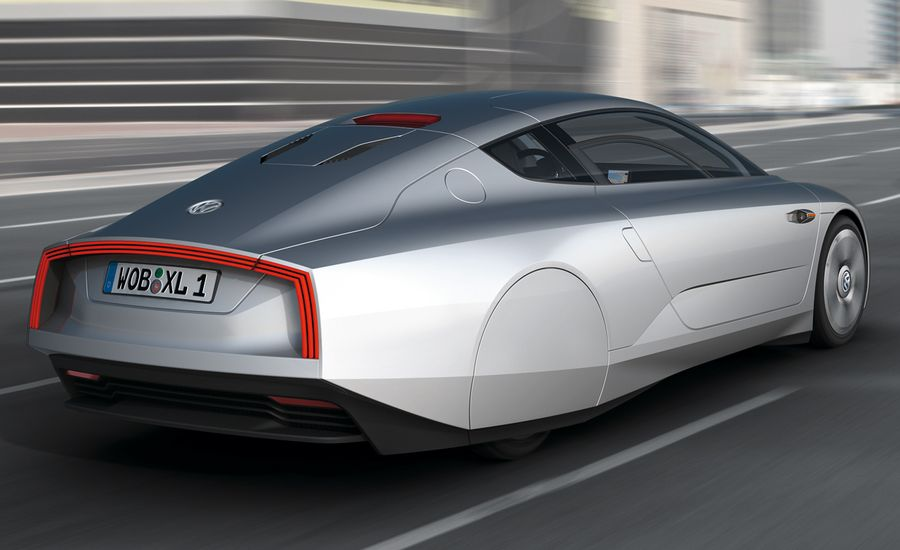 Volkswagen XL1 Concept First Drive  Review  Car and Driver