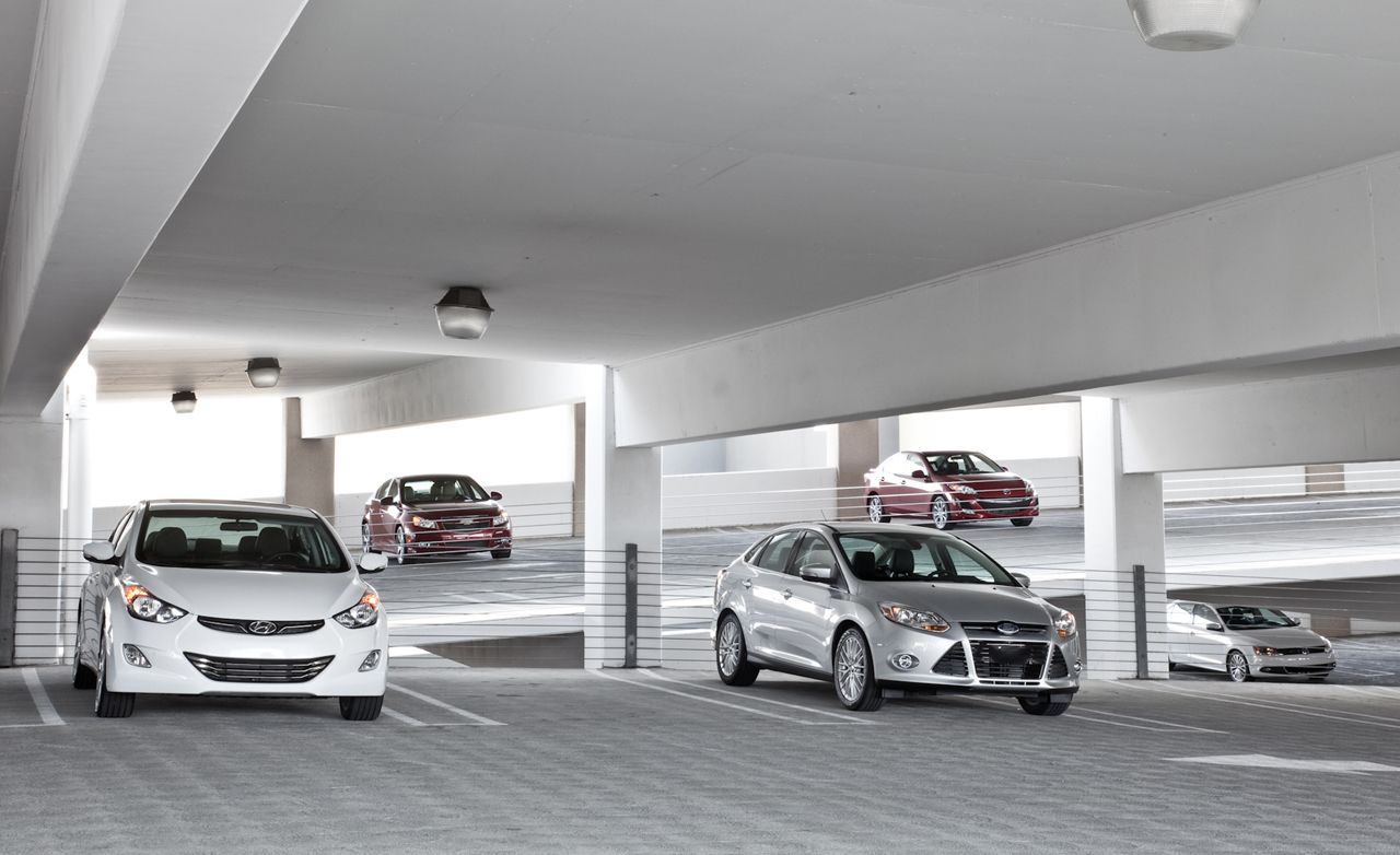 2011 Chevy Cruze vs. 2012 Ford Focus and Three More Compacts