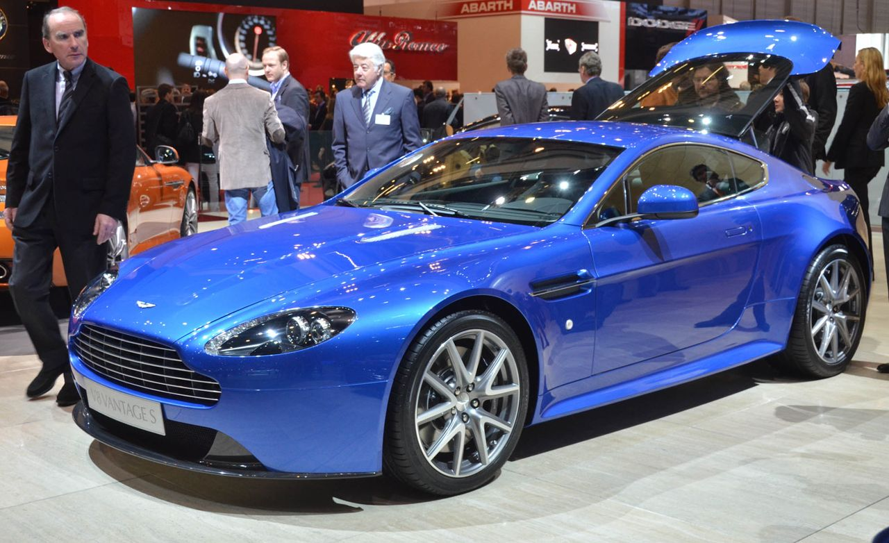 2011 Aston Martin V8 Vantage S Coupe and Roadster