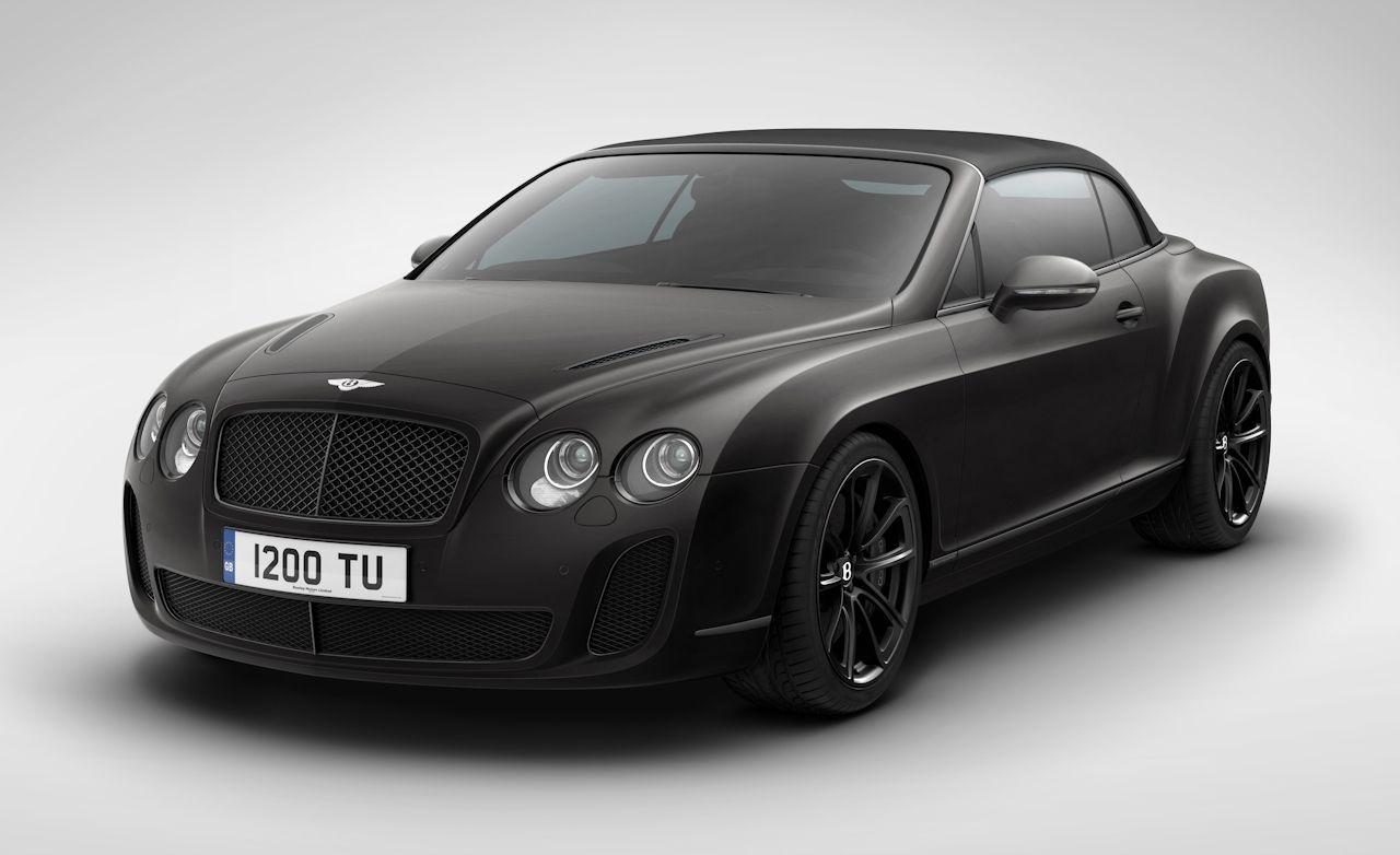 Bentley supersports isr
