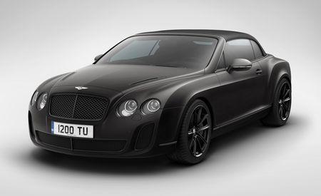 Bentley Continental Review 2011 Bentley Supersports Convertible