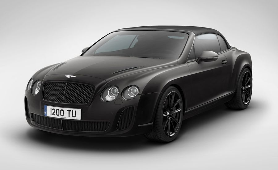 2011 Bentley Supersports Convertible Ice Speed Record News Car