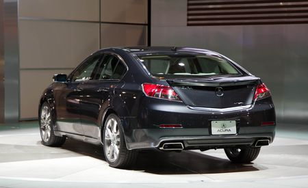 2012 Acura TL Official Photos and Info