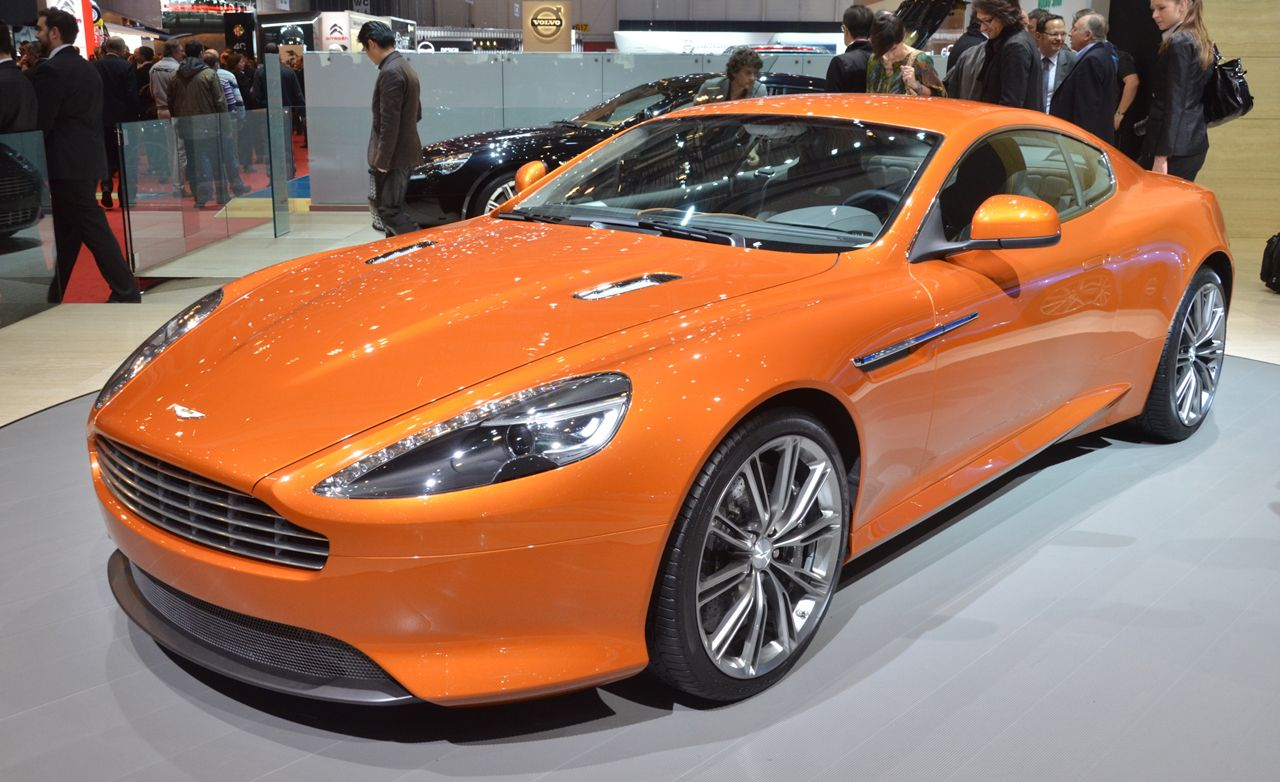 2012 Aston Martin Virage and Virage Volante