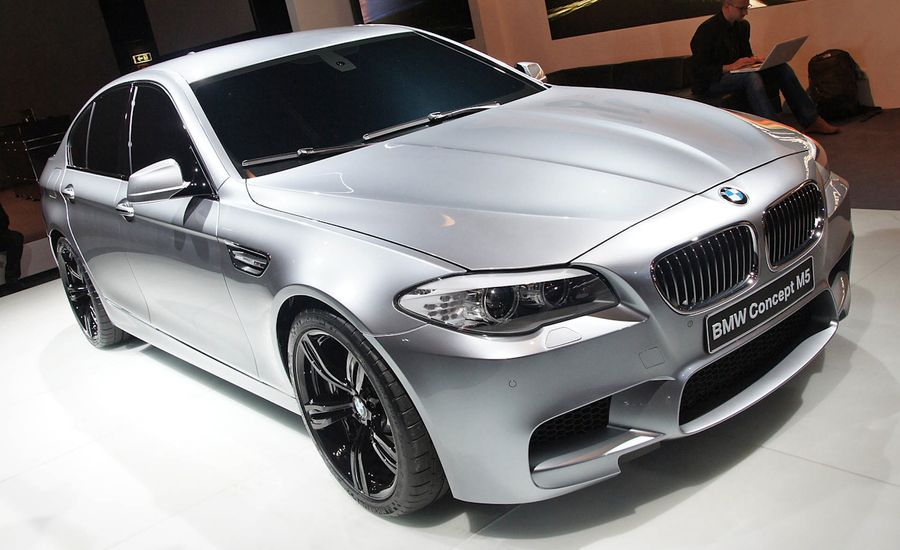 2012 BMW M5 Concept Official Photos and Info