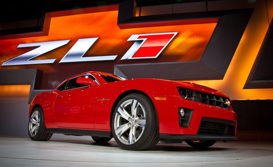 2012 Chevrolet Camaro ZL1 Official Photos and Info