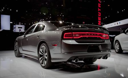 2012 Dodge Charger SRT8 Official Photos and Info